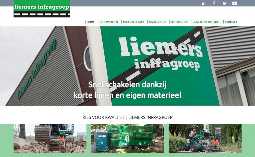 Nieuwe website voor Liemers Infragroep