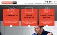 Nieuwe website voor de Meeesters in IT - InterXL Internet Services