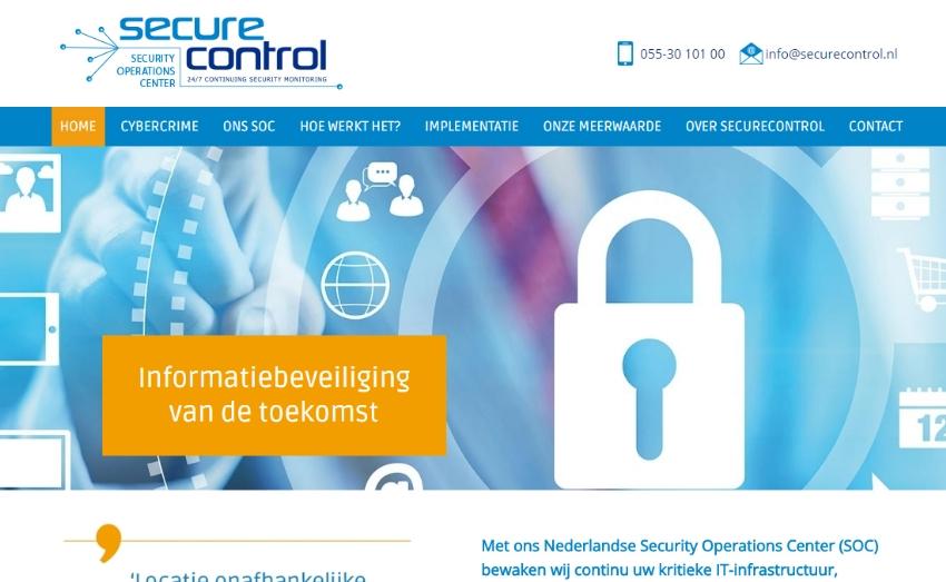 Website voor SecureControl