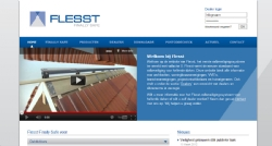Internationale website voor Flesst - InterXL Internet Services