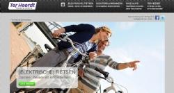 Website en webshop voor Ter Heerdt Tweewielers - InterXL Internet Services
