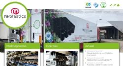 Nieuwe website voor M-plastics - InterXL Internet Services