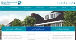 Nieuwe website voor Dolron Rivierenland Makelaars - InterXL Internet Services