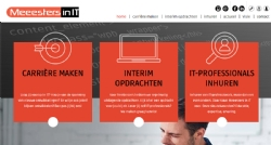 Nieuwe website voor de Meeesters in IT - InterXL Internet Services