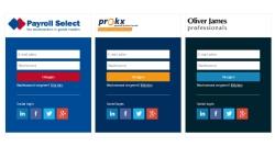 Mijn-omgeving voor Payroll Select - InterXL Internet Services