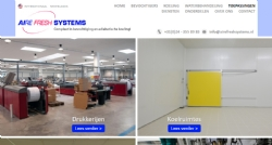 Website voor Aire Fresh Systems - InterXL Internet Services