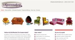 Kussenmakerij.nl website met kussen-configurator - InterXL Internet Services