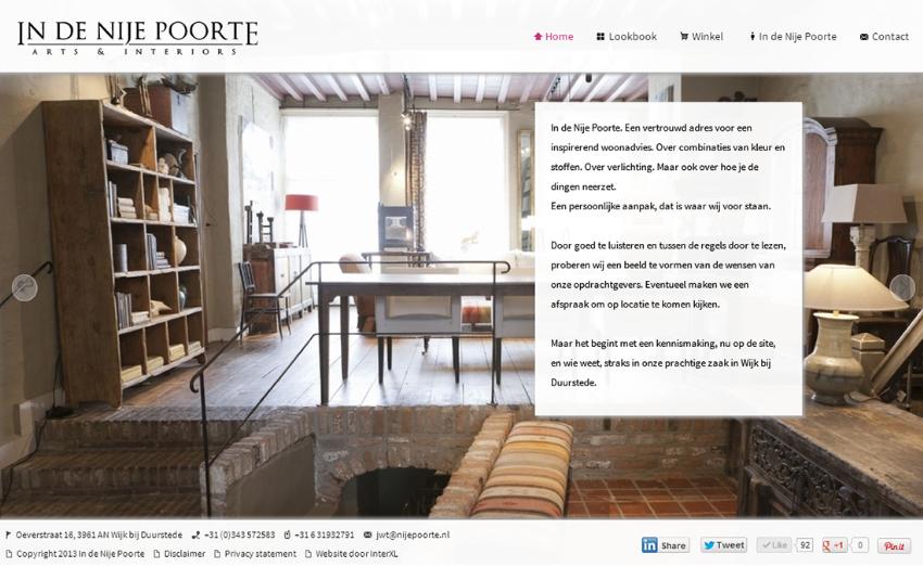 Nieuwe website voor In de Nije Poorte