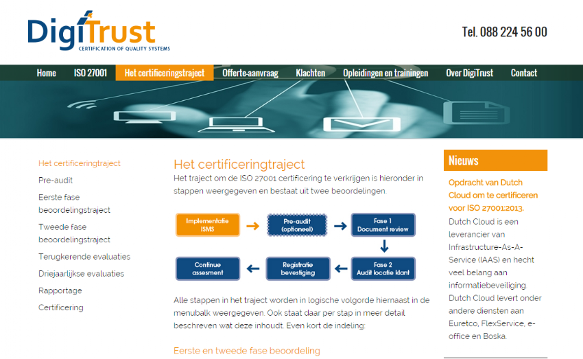 New website for DigiTrust