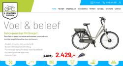 Nieuwe website voor Liemers Fietsen uit Duiven - InterXL Internet Services