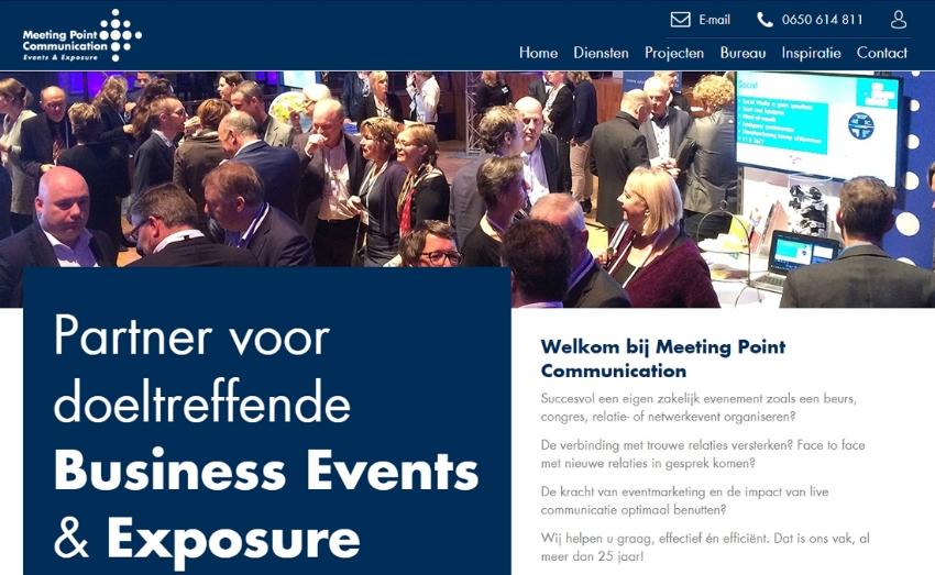 Nieuwe website voor Meeting Point Communication
