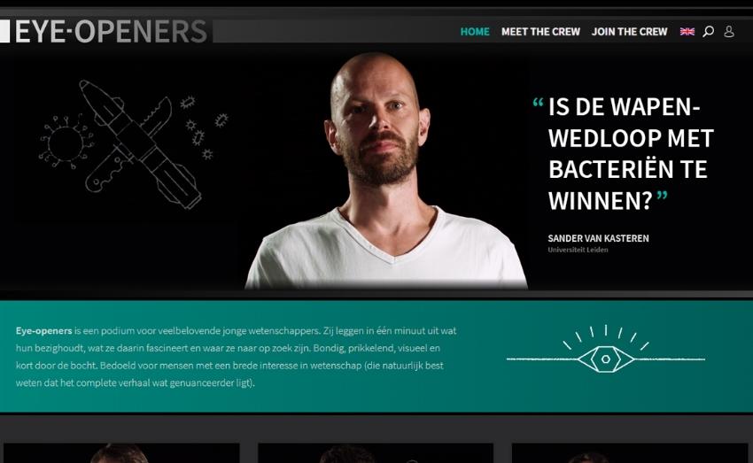 Video-platform Eye-openers.nl voor KNCV