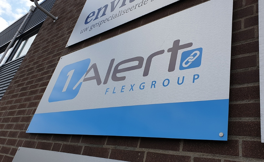 Social media support voor 1Alert Flexgroup