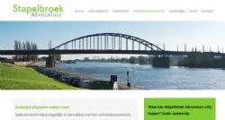 Logo, huisstijl en website voor Stapelbroek Advocatuur - InterXL Internet Services