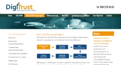 Nieuwe website voor DigiTrust - InterXL Internet Services