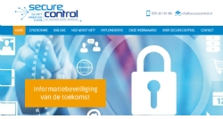 Website voor SecureControl - InterXL Internet Services